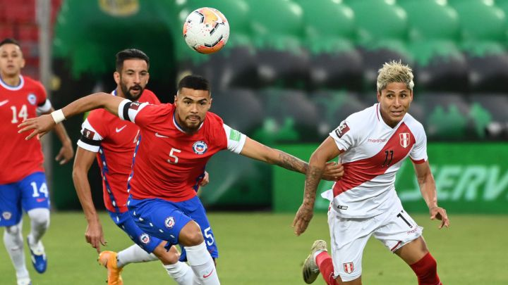 Sigue por streaming el partido de Chile ante Perú