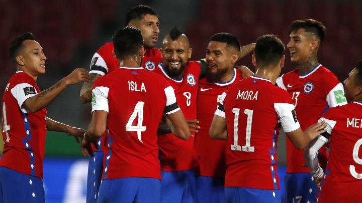 Chile 2-0 Perú: la Roja alcanzó su primer triunfo en Clasificatorias - AS  Chile