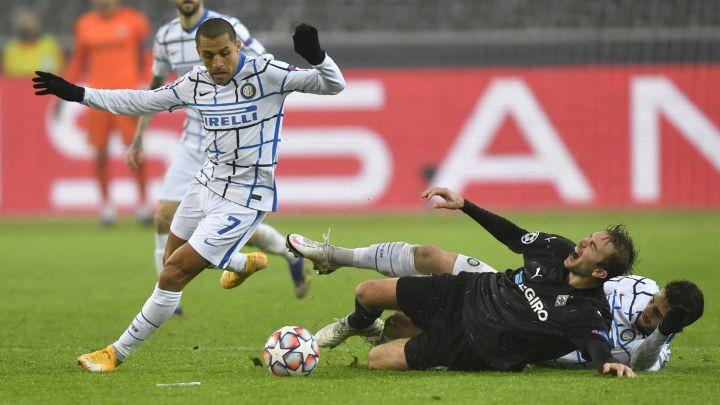 Monchengladbach 2 - Inter 3, Champions League: goles, resultado y resumen -  AS Chile