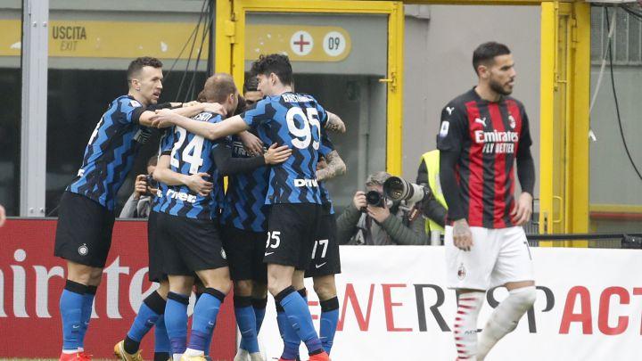Inter golea a Milán y se lleva el Derby della Madonnina y aumenta su ventaja en la cima de la Serie A