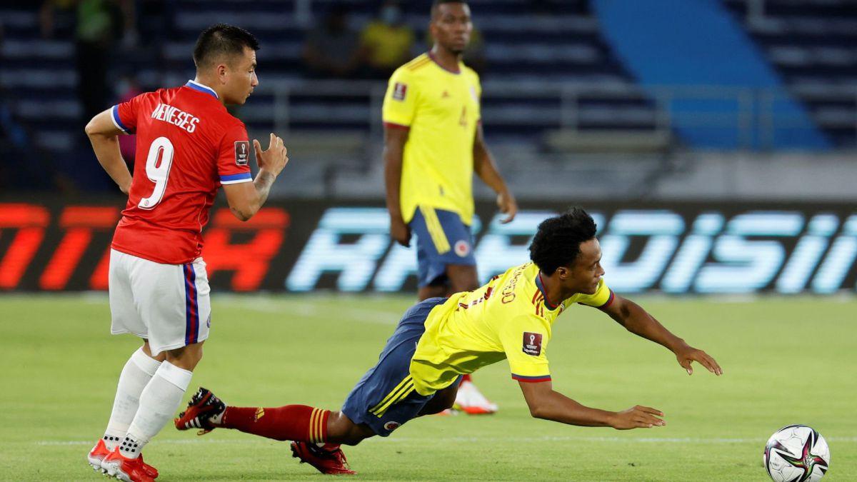 Colombia – Chile en vivo: Eliminatorias Mundial Qatar 2022, en directo - AS Chile