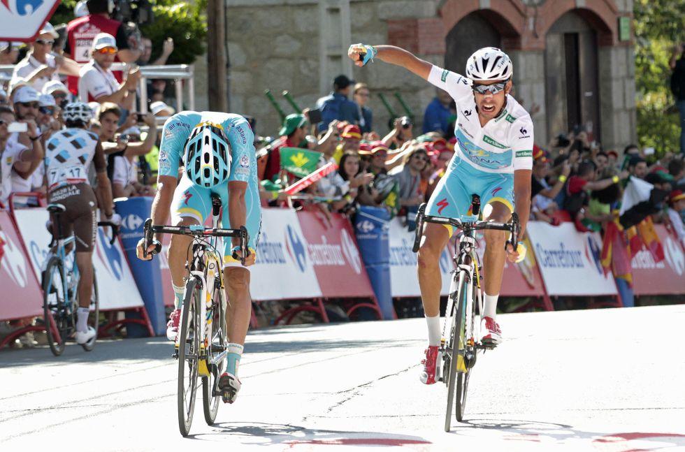 Vuelta a España: Fabio Aru revienta a Dumoulin y es el ...