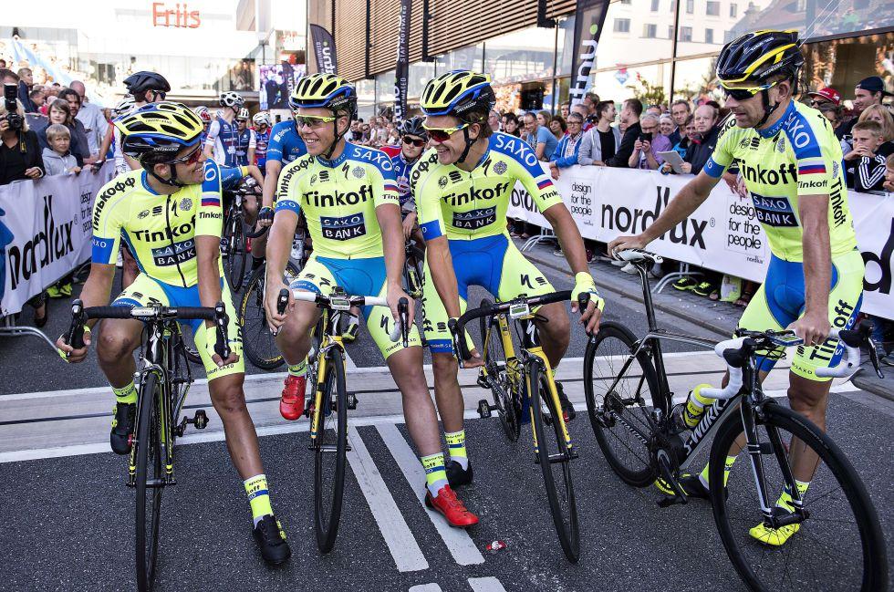 Ciclismo saxo bank dejar de patrocinar al equipo de for Equipos de ciclismo