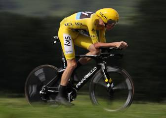 Froome looks champion-elect as things hot up behind