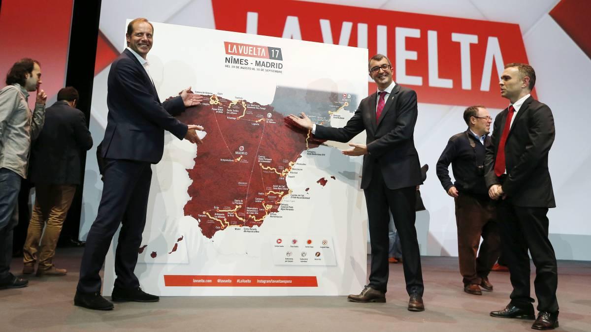 Imagen de la presentación de La Vuelta a España 2017.