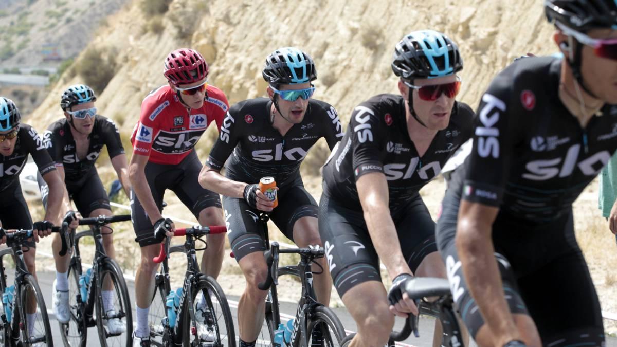 Sigue la etapa 11 de la Vuelta a España 2017 en directo online, jornada de 187 km entre Lorca y Calar Alto, hoy, 30 de agosto a las 12:28 horas en AS.