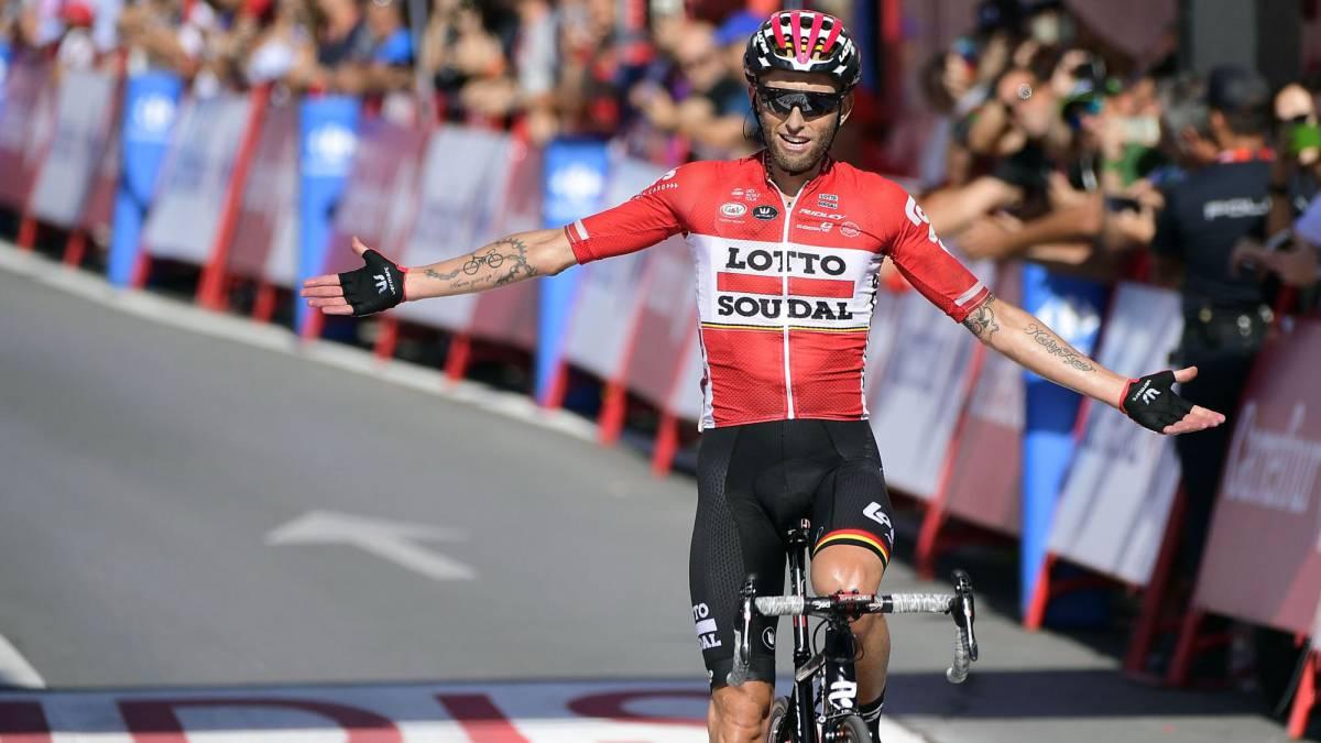 Contador enciende la Vuelta