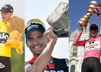 Van Avermaet, Froome, Dumoulin... los cracks del UCI World Tour 2017