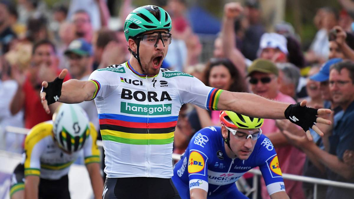 Sagan gana la clásica People's Choice, antesala del Down Under