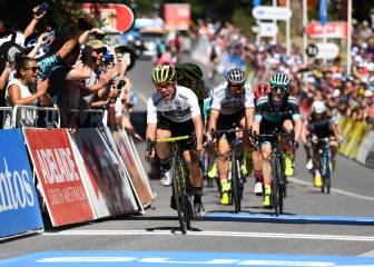Ewan domina en Stirling y ya es líder del Tour Down Under