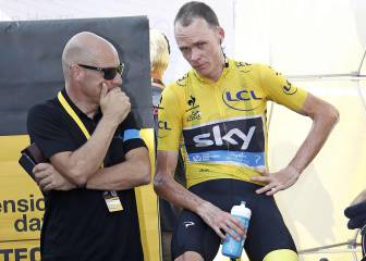 El director del Sky sigue firme en no suspender a Chris Froome