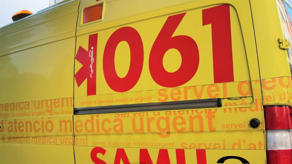 Imagen de archivo de una ambulancia del SAMU.