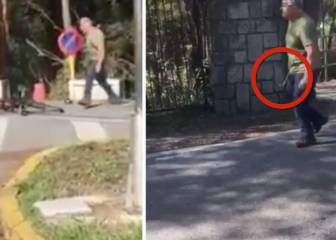 Lorry driver attacks cyclists with hammer in northern Spain