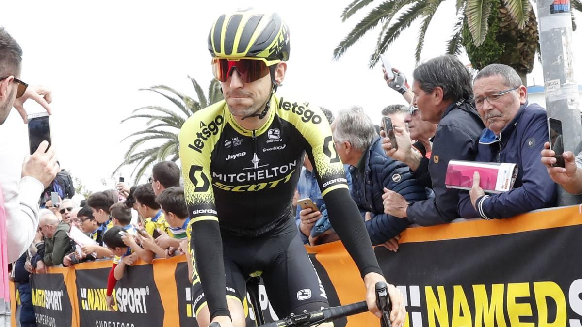 Nieve: el hombre de equipo que se exhibe en el Giro