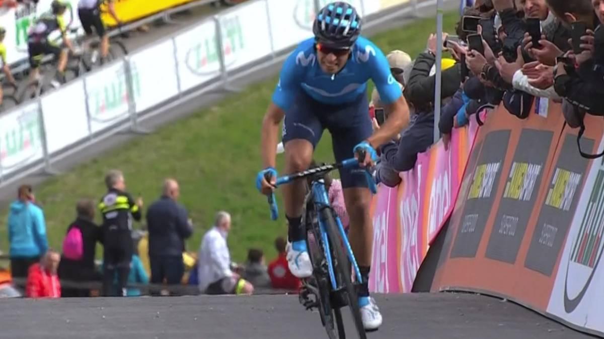 Resumen del Giro de Italia, etapa 17: Mikel Landa se acerca al podio y Carapaz refuerza el rosa