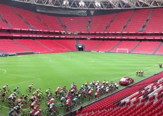 La Vuelta takes a detour around Athletic Bilbao's San Mamés