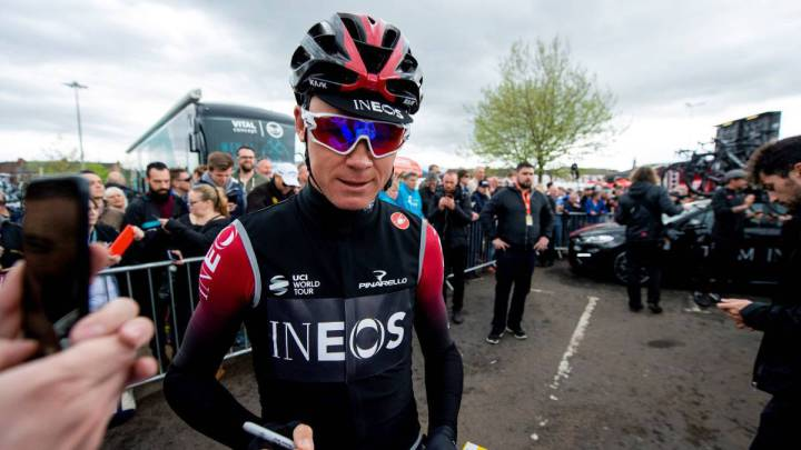 """Dudas en el Ineos con Froome: """"No estoy seguro que esté listo para poder ganar el Tour"""""""
