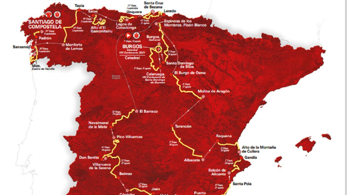 Vuelta A España 2021 Etapas Perfiles Y Recorrido As Com