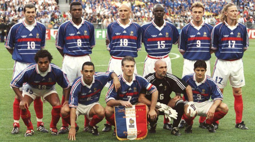 Resultado de imagen para Seleccion de francia 1998