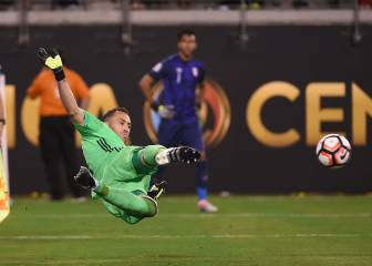 Peru pay penalty as Colombia and hero Ospina make semis