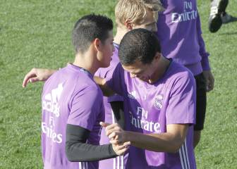 James, en la convocatoria de Madrid para la Copa del Rey