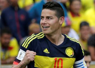 James leads Colombia closer to Russia 2018