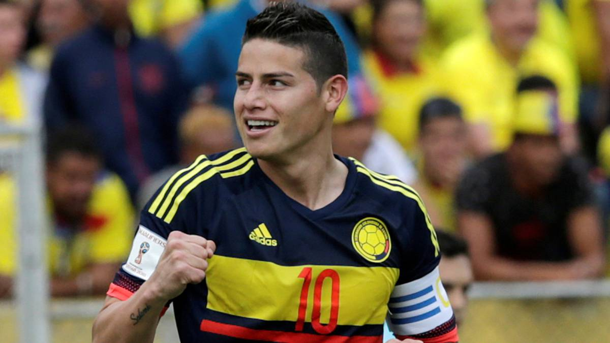 James and Cuadrado give Colombia win over Ecuador