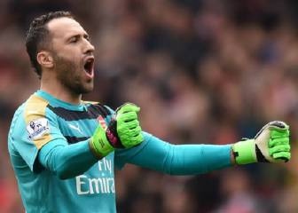 Ospina regresa a la Premier League y enfrenta al City