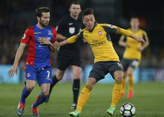 Crystal Palace 3-0 Arsenal: Goles y resultado - Premier League 2016/2017