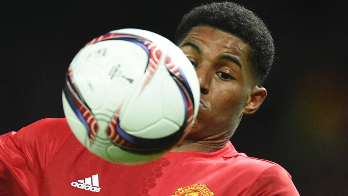 Rashford mete al United en semis de Europa League