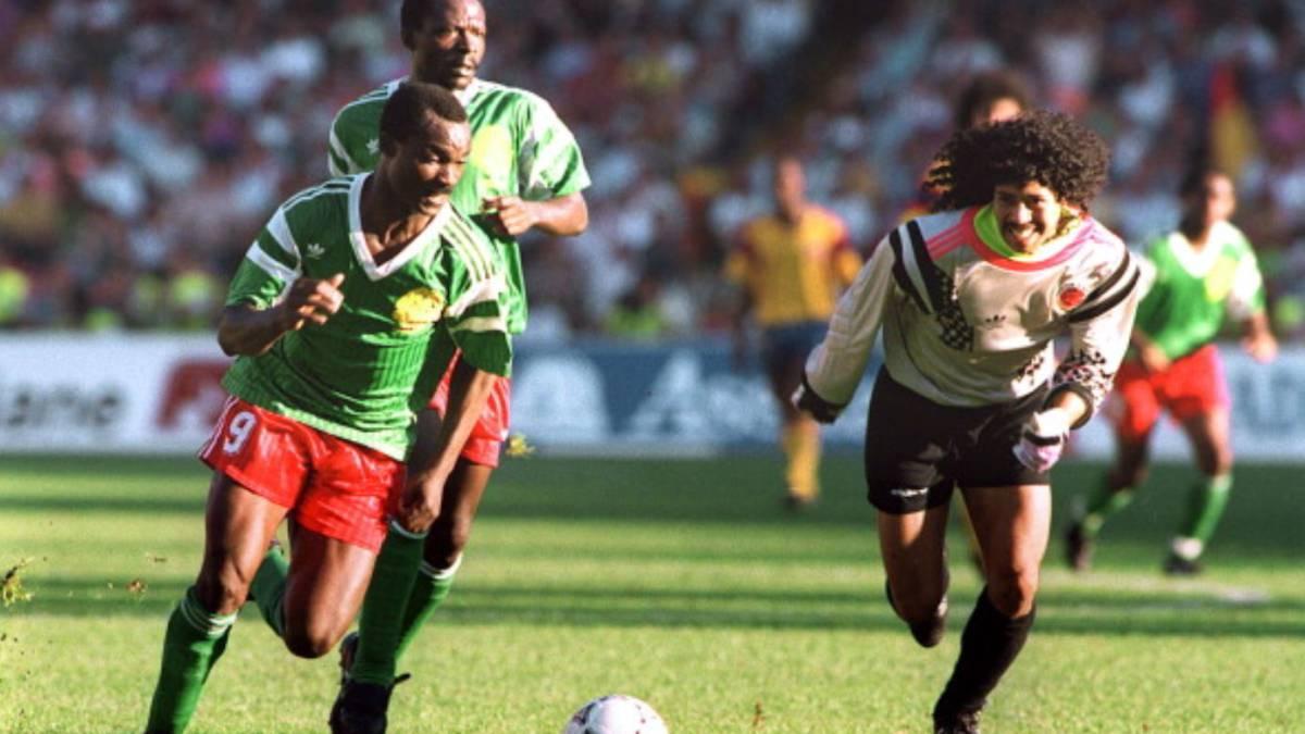 Resultado de imagen para colombia camerún 90