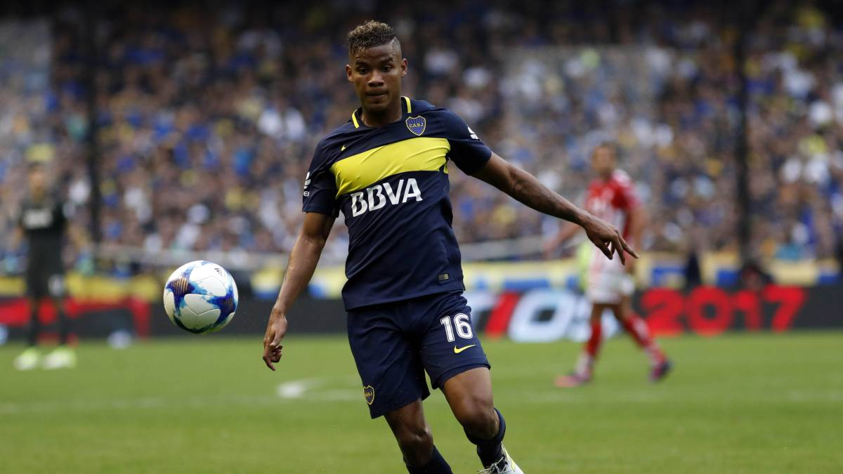 Wilmar Barrios de Boca Juniors