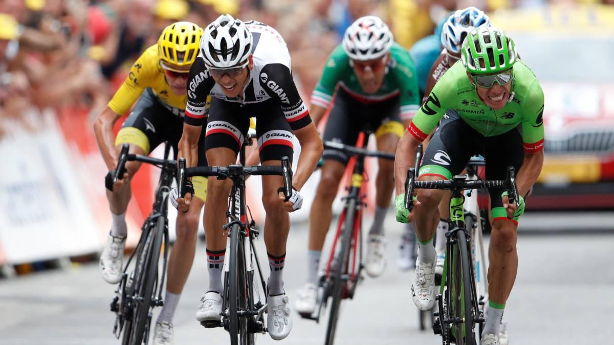 Etapa 9 Del Tour De Francia Victoria Con Foto Finish Para Rigo Urán As Colombia