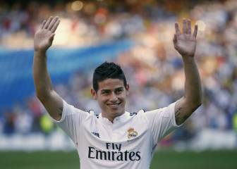 James se despide del Madrid: