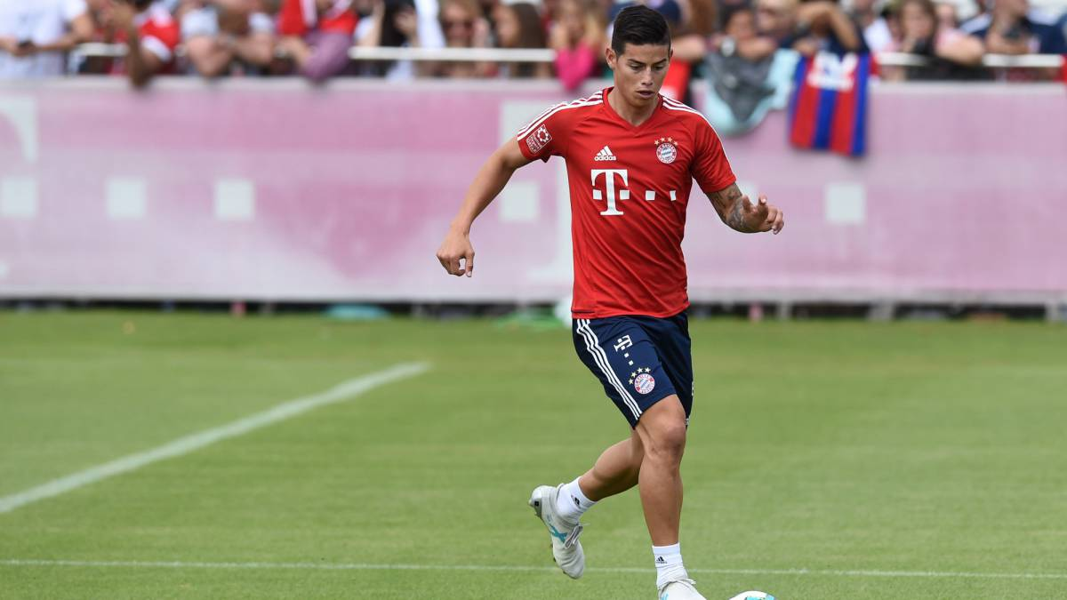 James Rodríguez pasa del Real Madrid al Bayern Múnich.