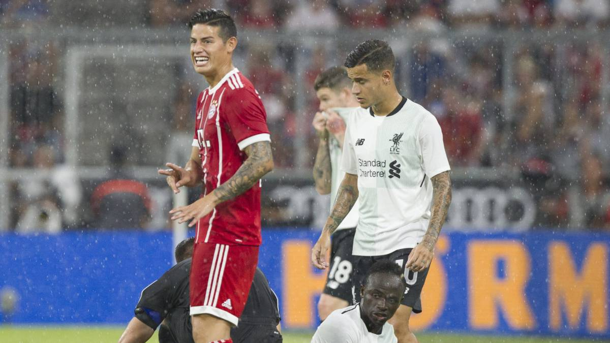 James Rodríguez sale lastimado