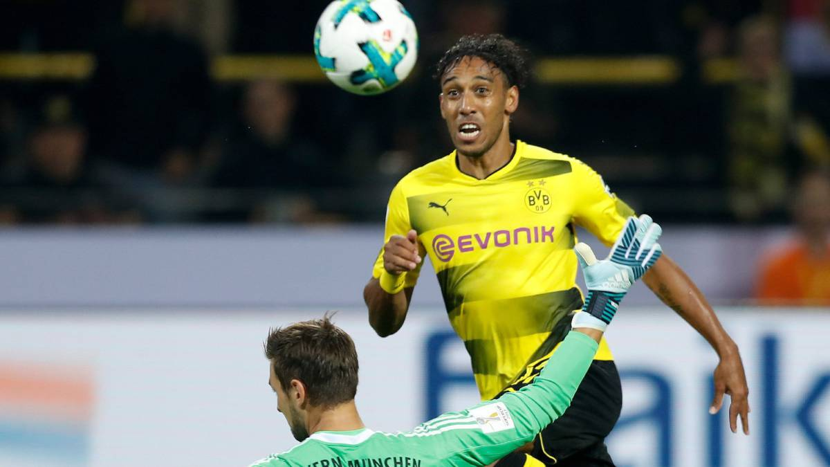 Aubameyang sigue en Dortmund y confirma oferta de China
