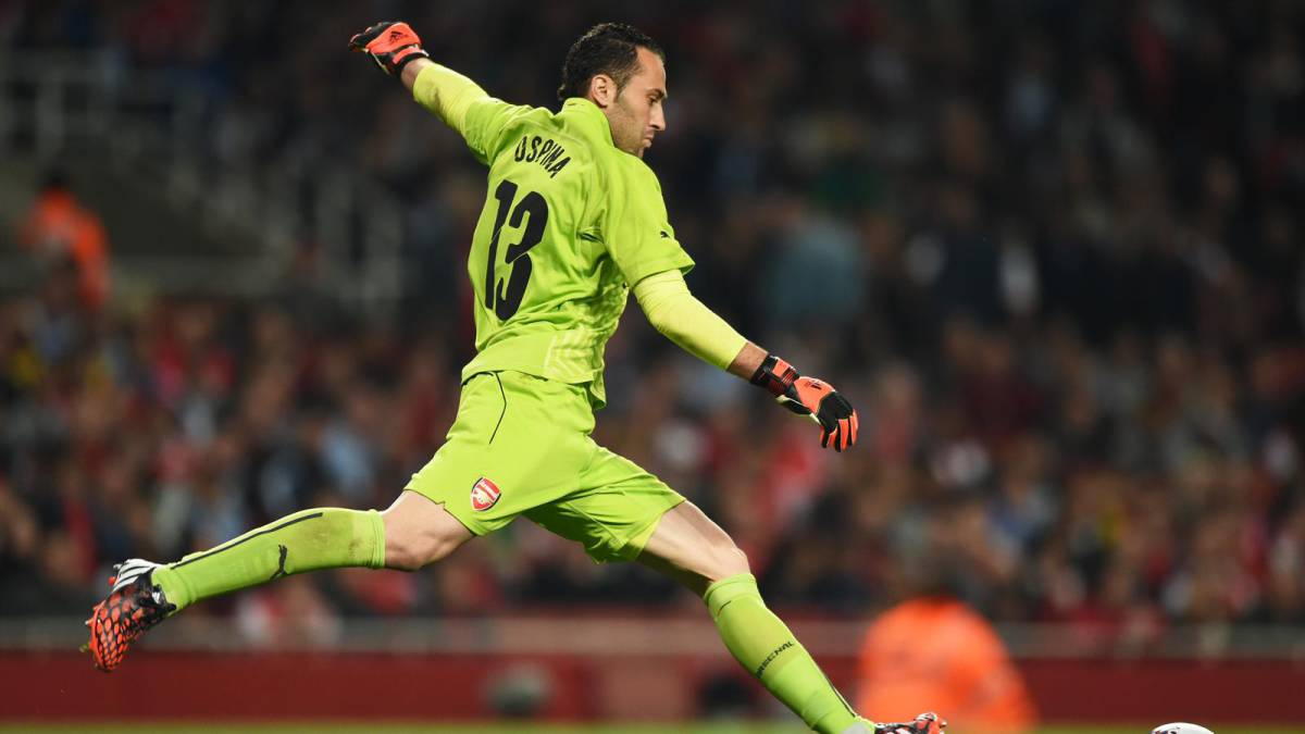 David Ospina, arquero del Arsenal de Londres