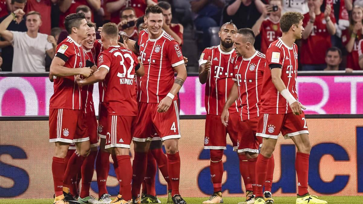 Resultado Bayern Múnich 3-1 Bayer Leverkusen: Inicia la Bundesliga