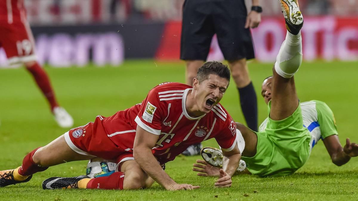 Bayern 2-2 Wolfsburgo: James jugó los últimos minutos