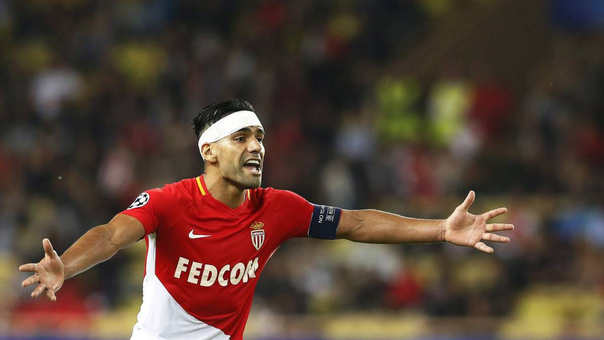 Falcao no ha marcado en la actual Champions League.