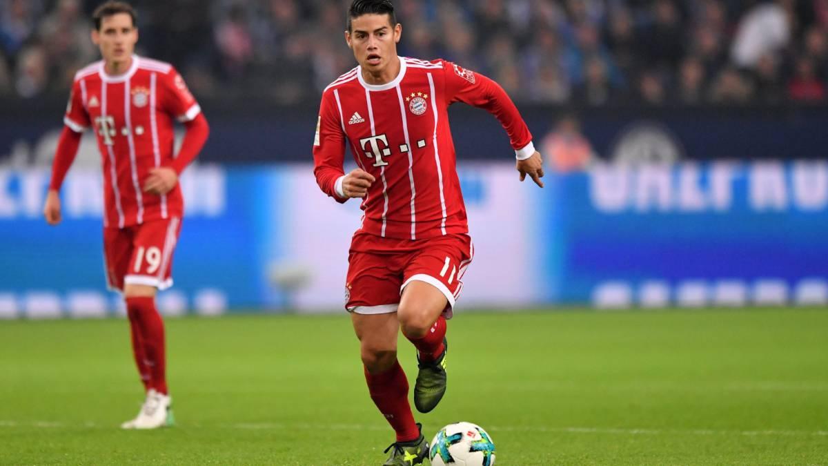 ¿En qué esquema cabe James con los otros cracks del Bayern?