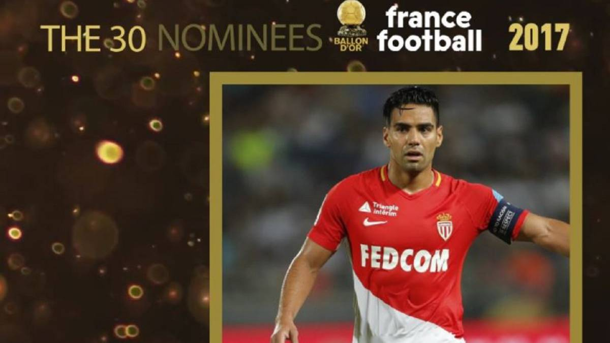 Falcao nominado al Balón de Oro de revista France Football