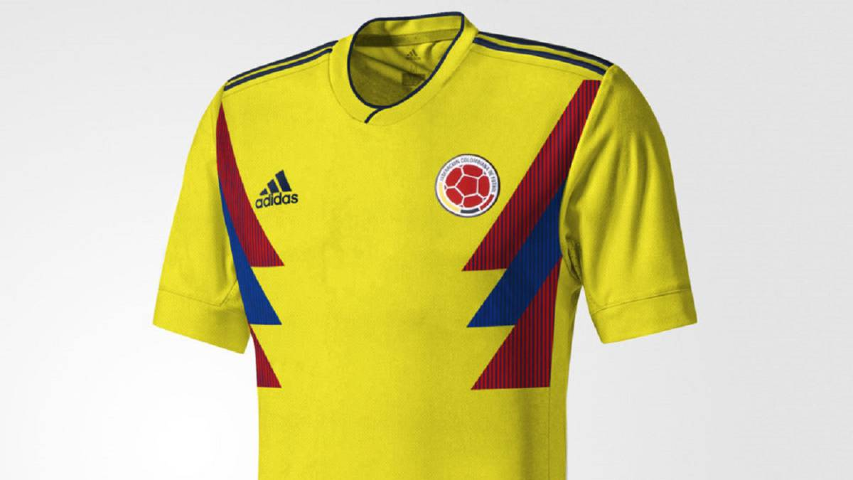 6dce2db7e7f42 Se filtra la posible camiseta de Colombia para 2018 - AS Colombia