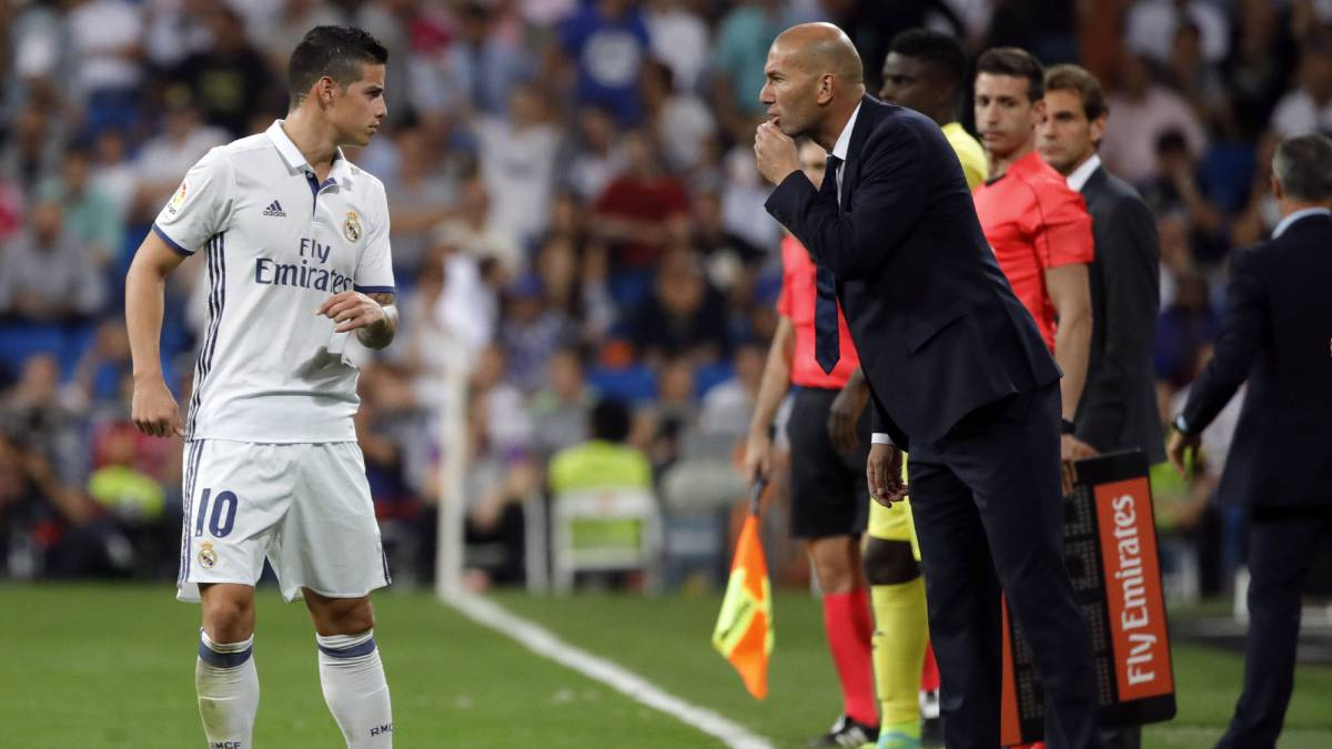 James vota por Zidane como mejor entrenador en 'The Best'