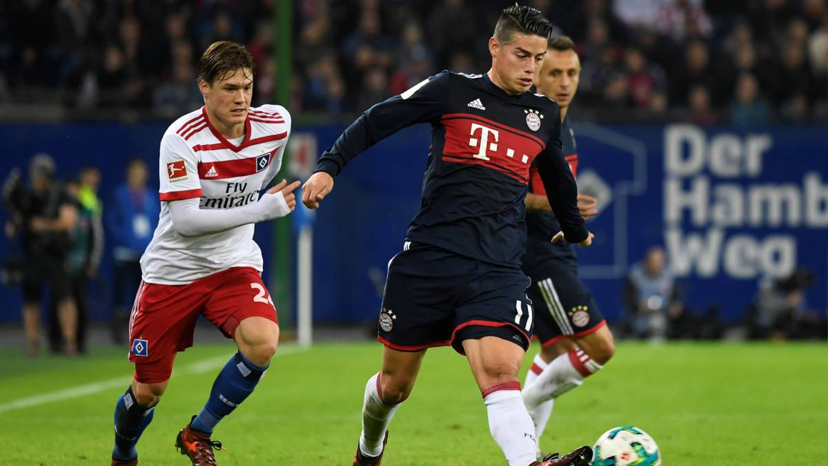 "Heynckes: ""James estará en la convocatoria frente a Leipzig"""