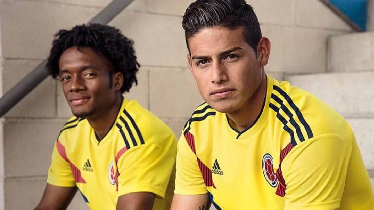 ad6317f995767 Nueva camiseta de la Selección Colombia para el Mundial 2018