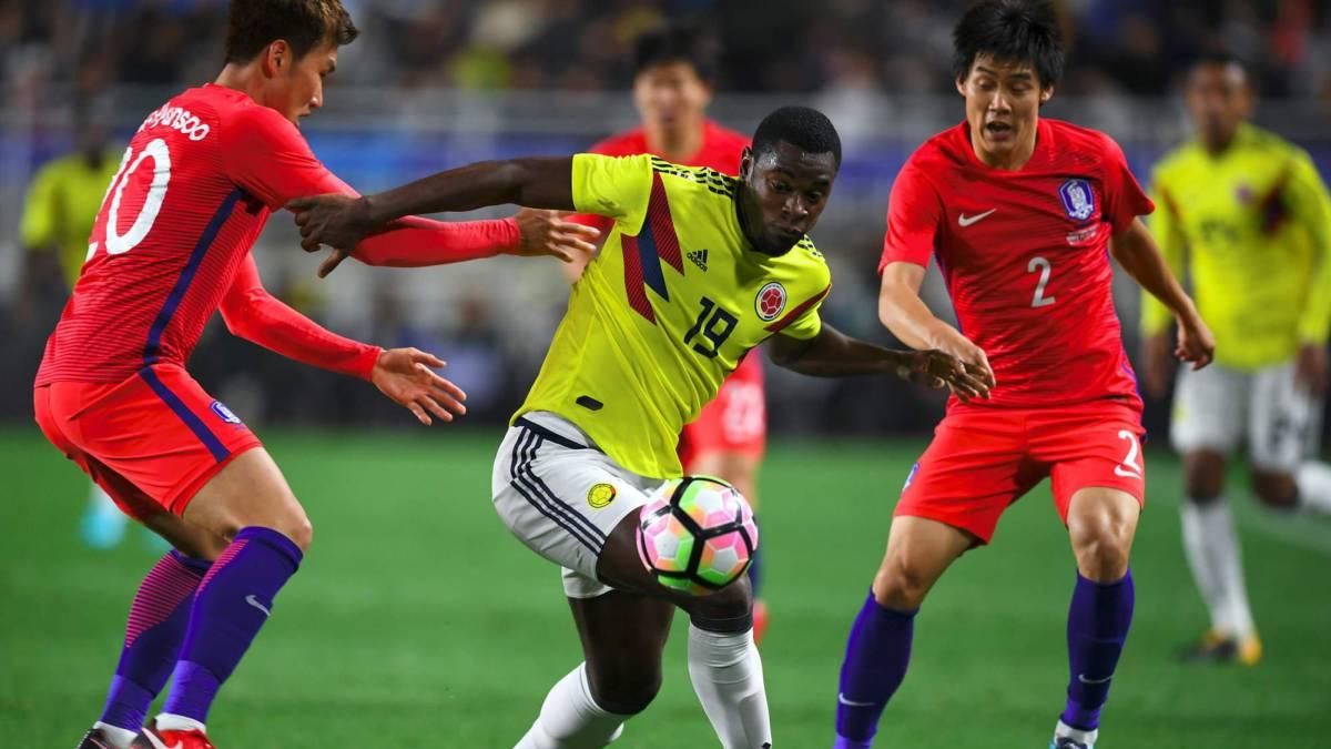 Corea del Sur 2 - 1 Colombia  Son hace doblete y Zapata descuenta ... 3abd0a28a4856