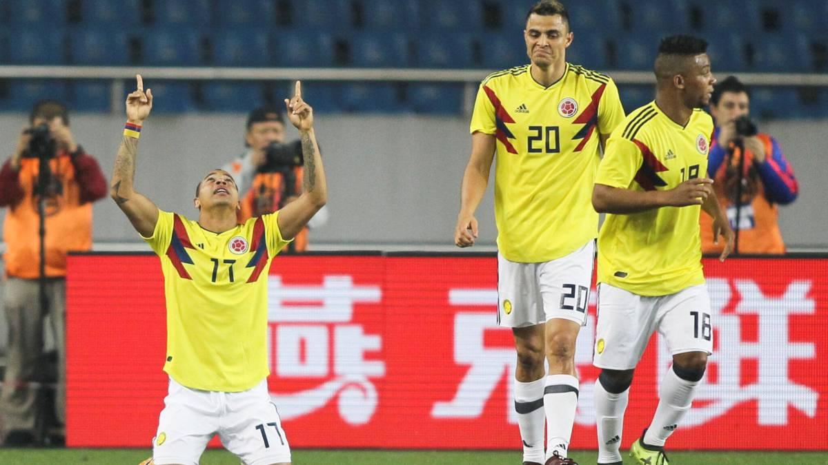 La Selección Colombia venció 4-0 a China en partido amistoso este 14 de  noviembre a8c8f08c80d9d