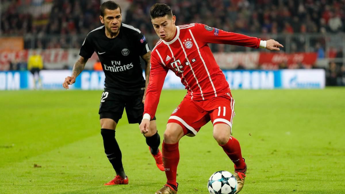 Bayern 3-1 PSG, Champions League